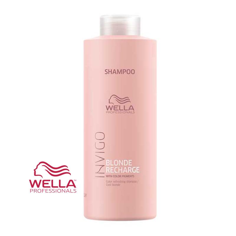 Sampon INVIGO Blonde Recharge Wella Professionals 1000 ml