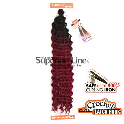 Glance Deep Twist hajhosszabbitas afro hombre (szín OT530)