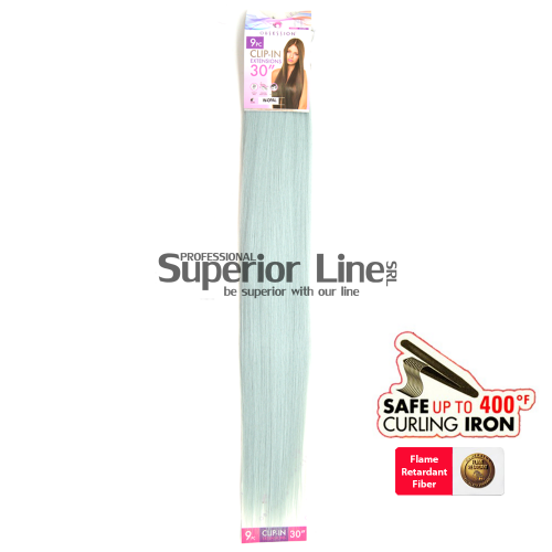 Cherish Extensions Clip On Synthetic Hair (color W-OPAL)