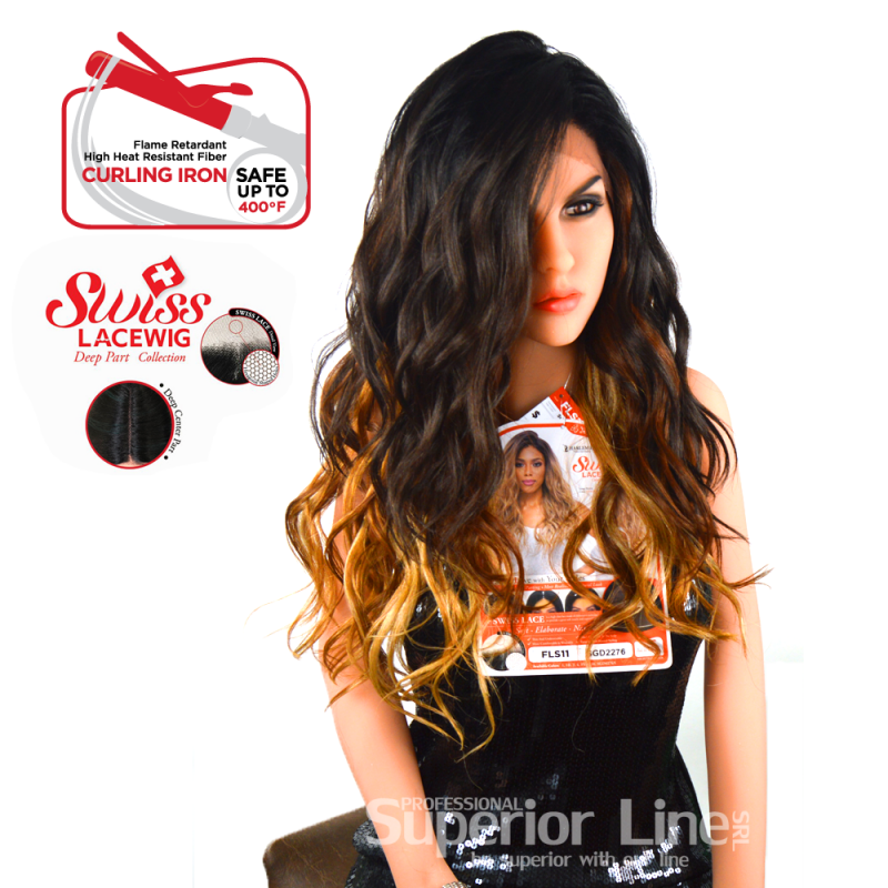 Kima FLS11 wig with lace (color SGD2276)