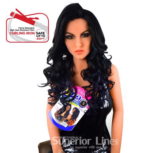 Equal Vina Синтетични перуки за коса (цвят HDSAGE)