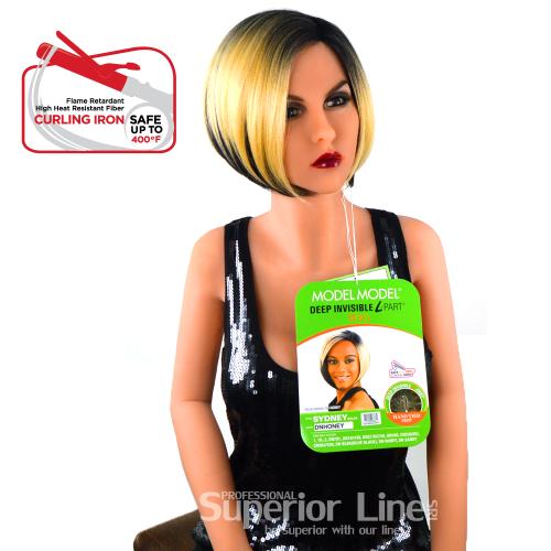 Model Model Sydney перука синтетична коса (цвят DNHONEY)