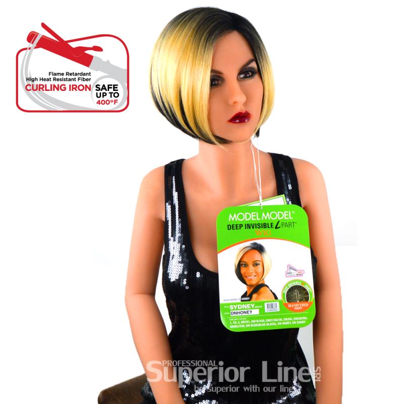 Model Model Sydney Синтетични перуки за коса (цвят DNHONEY)