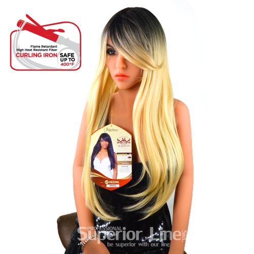 Rastafri HT-Neema paróka szintetikus haj (szín SP4/613)