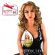 Rastafri Nicole peruca cu dantela par sintetic (culoare LATTE