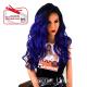 Kima FLS11 wig with lace (color SGDPU/BL)