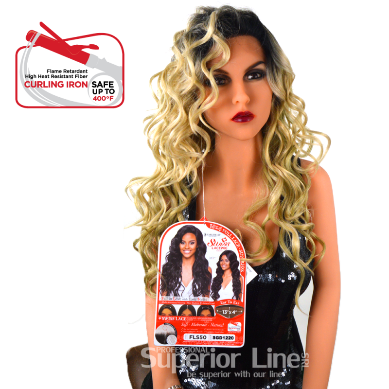 Kima FLS50 szintetikus haj parókák (szín SGD1220)