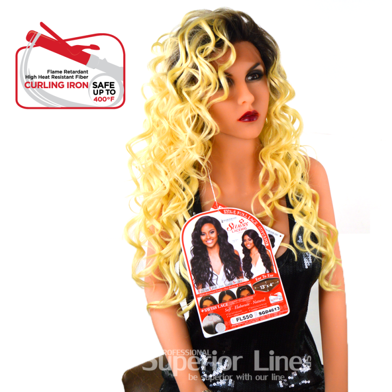 Kima FLS50 wig with lace (color SGD4613)