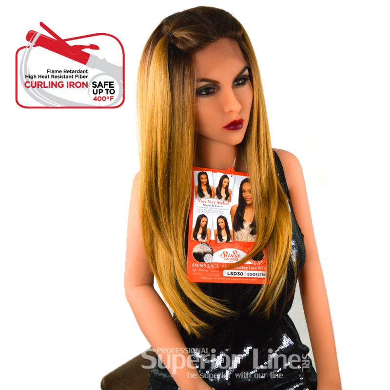 Kima LSD30 wig with lace (color SGD4276A)