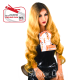 Kima LSD67 wig with lace (color SGD4276A)