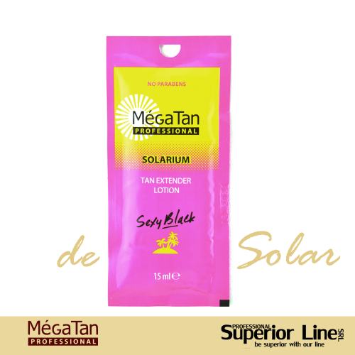 MegaTan Sexy Black crema bronzare solar 15 ml