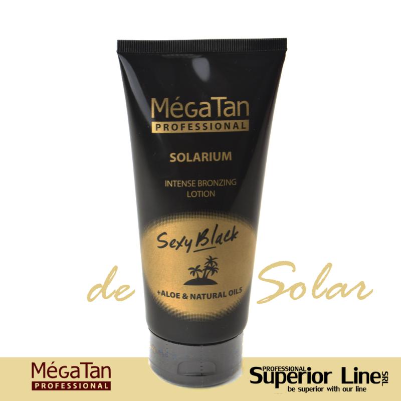 MegaTan Sexy Black Intense sun tanning cream 150 ml