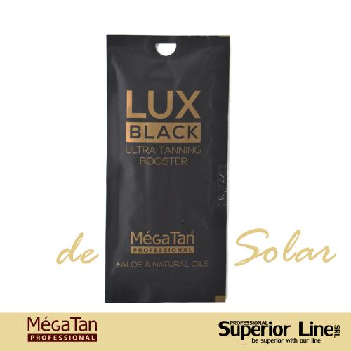 MegaTan Lux Black crema bronzare solar + autobronzant 15 ml