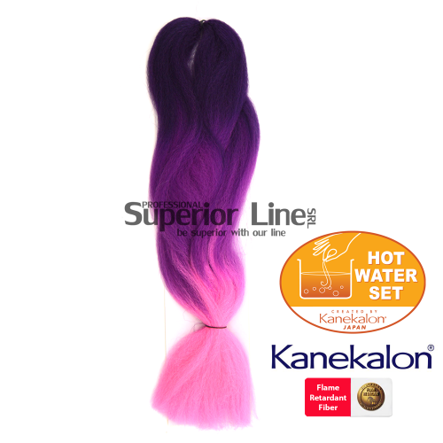Rastafri HighLight Kanekalon haj (szín 3TPP/H.Plum/PK)
