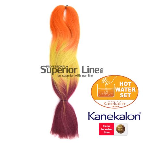 Rastafri HighLight szintetikus hajat az afro kötéshez (szín 3TOR/Olv.Plum)