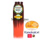 Rastafri Amazon 3X Pre Streched kanekalon haj (szín BT1B/SALMON)