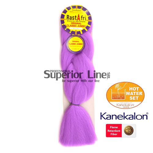 Rastafri AFB szintetikus hajat az afro kötéshez (szín OCHID PURPLE)