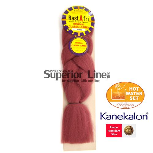 Rastafri Classic cheveu synthétique tresses kanekalon (couleur ROSEWOOD)