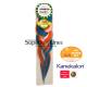 Rastafri AFB Sports Braid kanekalon haj (szín AQUA/OR/WHT)