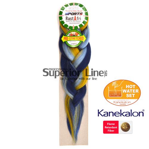 Rastafri AFB Sports Braid kanekalon haj (szín N.BL.B.BL.GOLD)