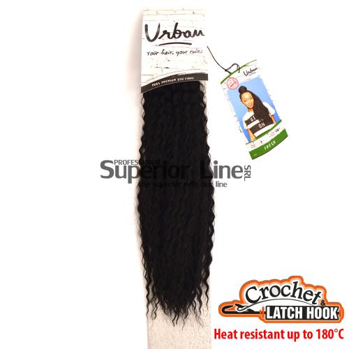 Urban Fresh hajhosszabbitas szintetikus fürtök afro (szín 1)