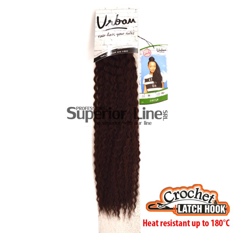 Urban Fresh hajhosszabbitas szintetikus fürtök afro (szín 33)