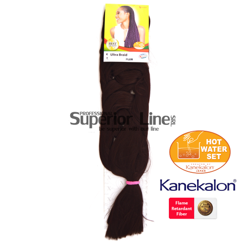 X-Pression Ultra Braid (culoare PLUM)