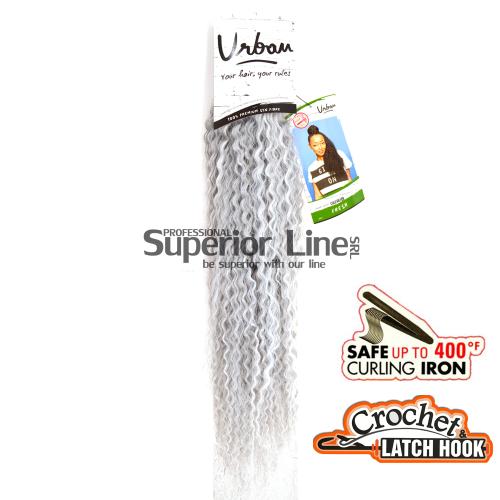 Urban Fresh crochet braid (color COLD SILVER)