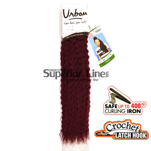 Urban Fresh hajhosszabbitas szintetikus fürtök afro (szín BG)