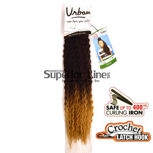 Urban Fresh hajhosszabbitas szintetikus fürtök afro (szín T4/27)