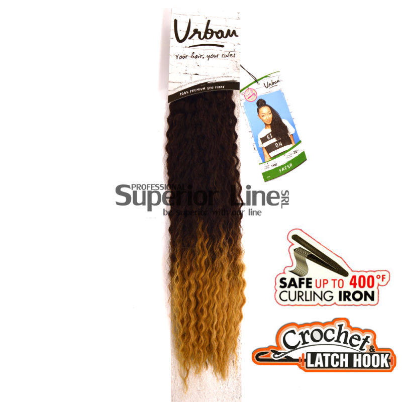 Urban Fresh crochet braid (color T4/27)