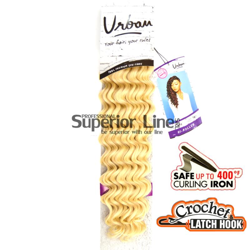 Urban Hi-Roller hajhosszabbitas szintetikus fürtök afro (szín 613)