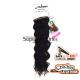 Urban Charm hajhosszabbitas szintetikus fürtök afro (szín 1)