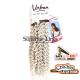 Urban Spiral crochet braid (color LIGHT SILVER)