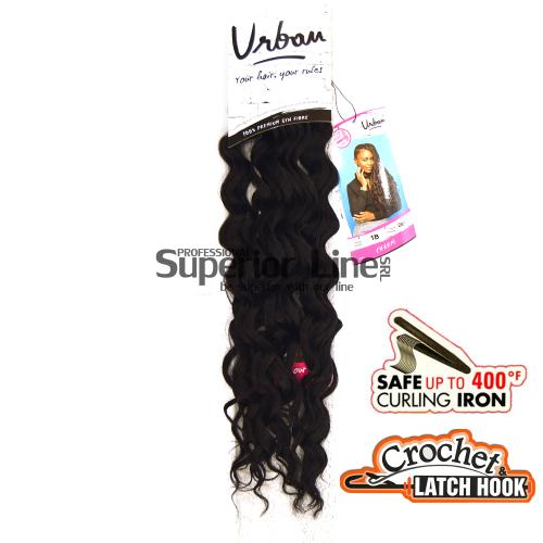 Urban Charm hajhosszabbitas szintetikus fürtök afro (szín 1B)