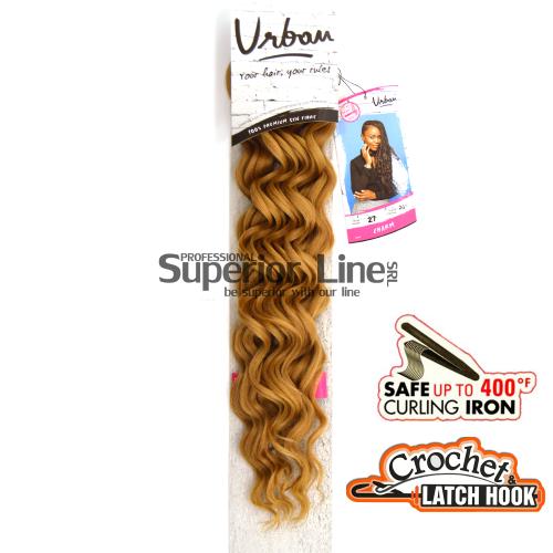 Urban Charm hajhosszabbitas szintetikus fürtök afro (szín 27)