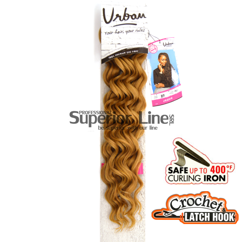 Urban Charm crochet braid (color 27)