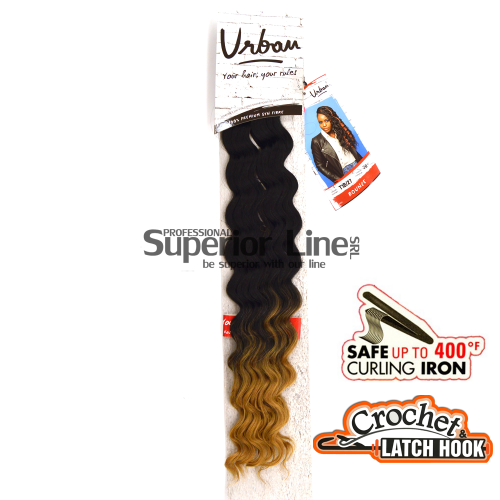 Urban Bounce crochet braid (color T1B/27)