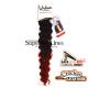 Urban Bounce hajhosszabbitas szintetikus fürtök afro (szín