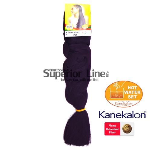 X-Pression Braid kanekalon-zöpfe aus kunsthaar (farbe PU)
