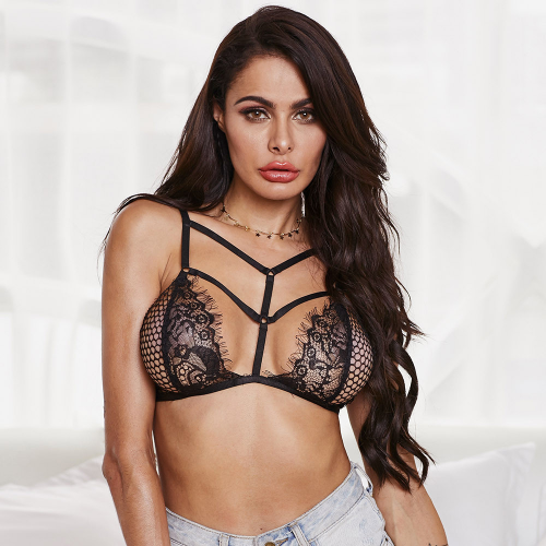 Bralette Ham bra with lace