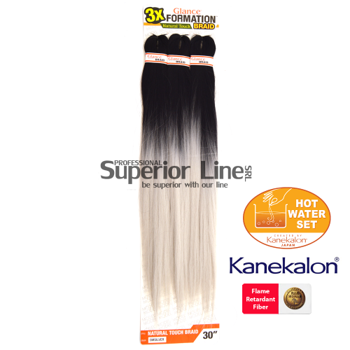 Glance 3X Formation Pre Streched Braid (color OMSILVER)
