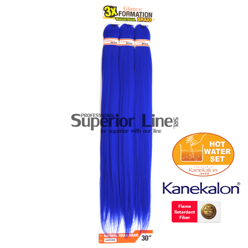 Glance 3X Formation Pre Streched Braid (color SAPPHIRE)