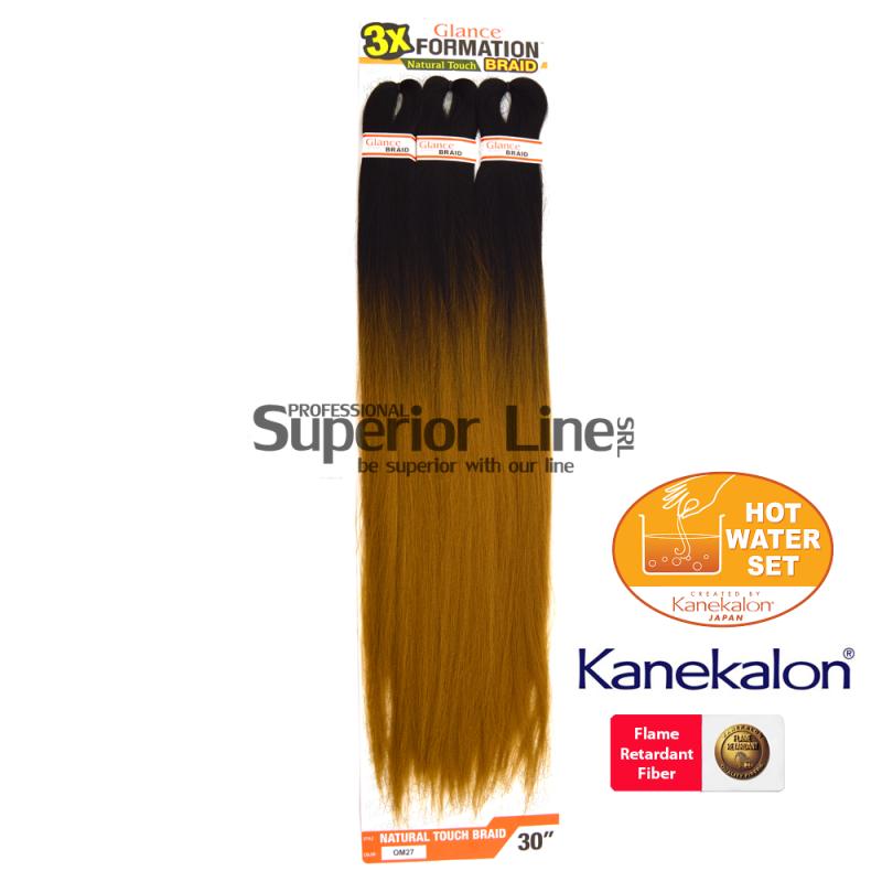 Glance 3X Formation kanekalon haj (szín OM27)