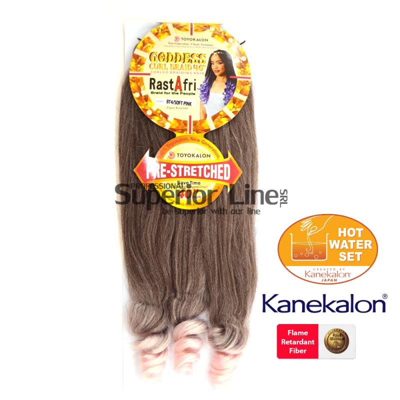 Rastafri Goddess 3X Pre Streched kanekalon haj (szín BT4/SOFT