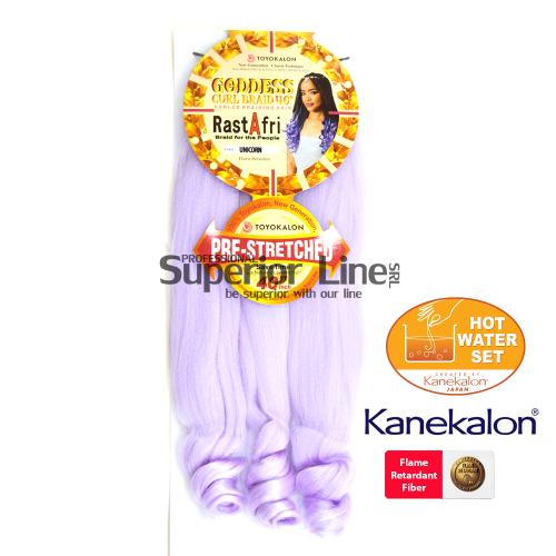 Rastafri Goddess 3X Pre Streched kanekalon haj (szín UNICORN)