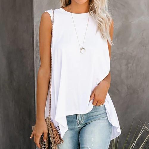 Sleeveless women blouse