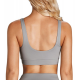 Sports bustier with detachable sponge
