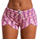 Bathing shorts for women with drawstring