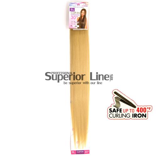 Obsession Extensions à clips Cheveux synthétiques (couleur 613)